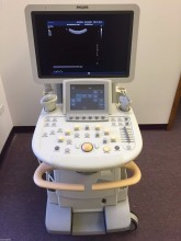 1. PHILIPS IU22 CART E ULTRASOUND SYSTEM WITH C5-1, V6-2 & C9-4